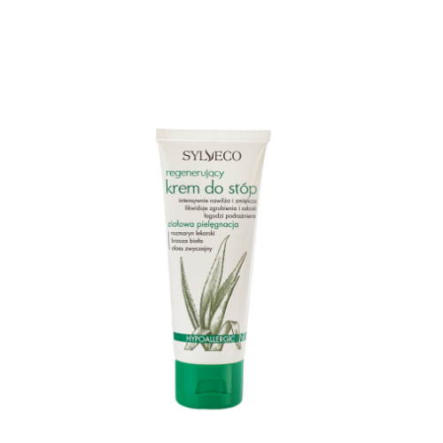 Regenerating Foot Cream with Aloe Vera
