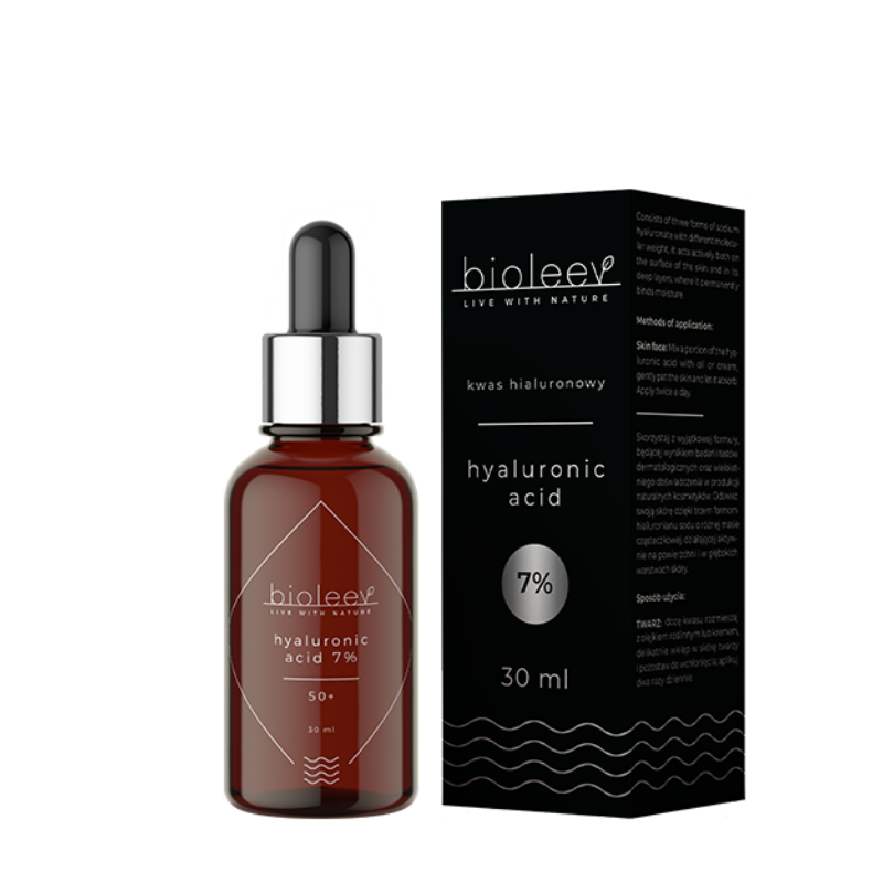 Hyaluronic Acid 7% 30ml, Serum, Bioleev, Nat-ul