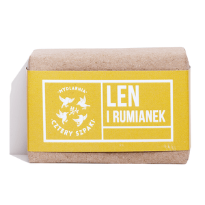Linseed and Chamomile Soap, Soaps, Cztery Szpaki, Nat-ul