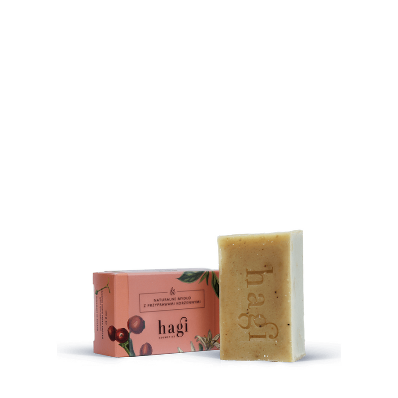 Natural soap with spices