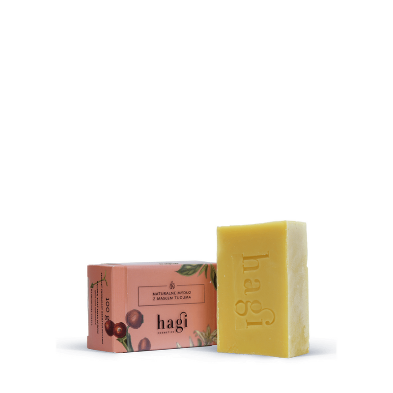 Natural soap with tucuma butter