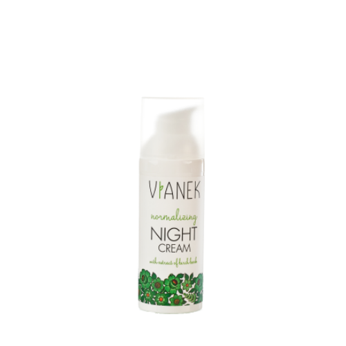 Normalising Night Cream, Face creams, Vianek, Nat-ul