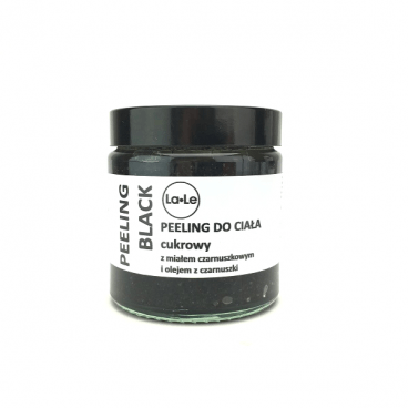 BLACK Sugar Body Scrub with Black Cumin Oil