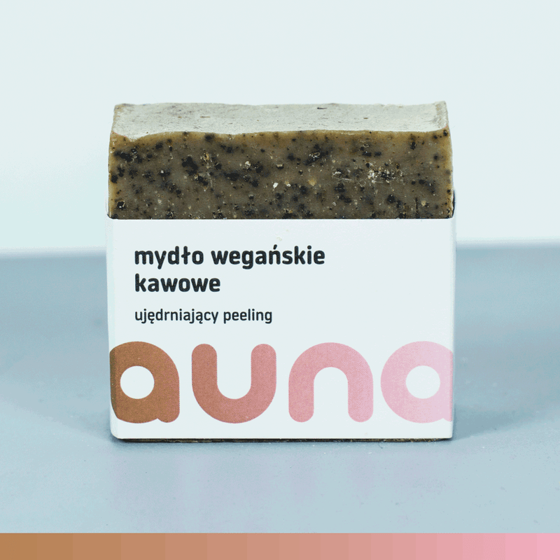 Vegan Coffee Soap Bar (firming peeling), Soaps, Auna Vegan, Nat-ul