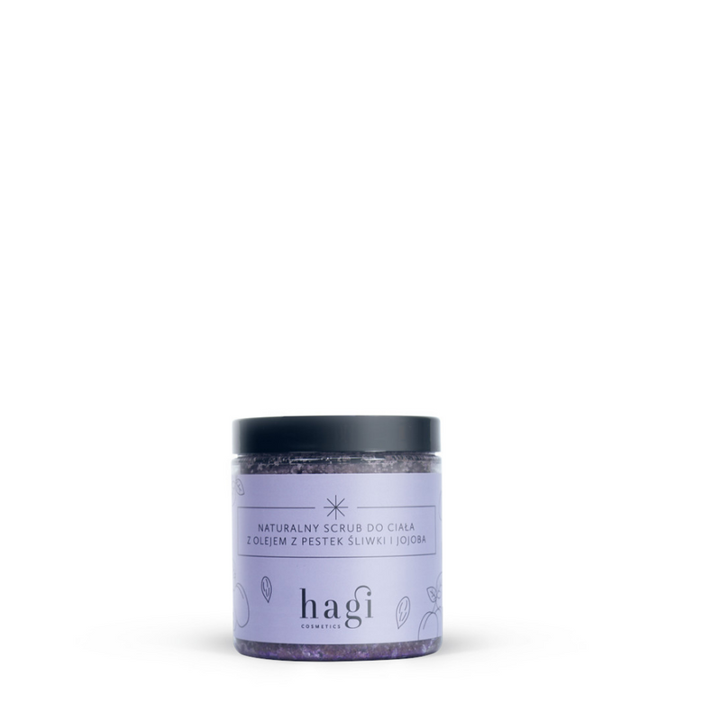Body Scrub with Plum Kernel and Jojoba Oil