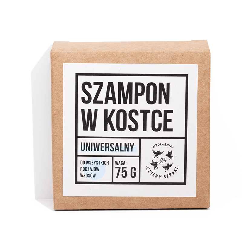 Shampoo Bar (all hair types), Shampoos, Cztery Szpaki, Nat-ul