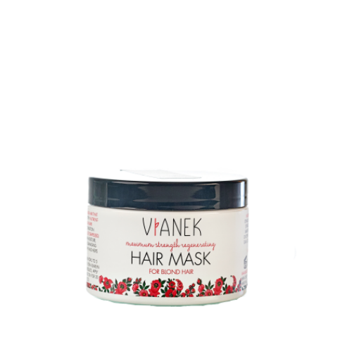 Intensive Regeneration Mask for Light, Blond Hair, Conditioners, Vianek, Nat-ul