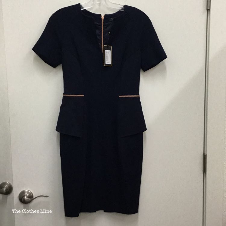 Ted Baker Women Size 6 Navy Casual