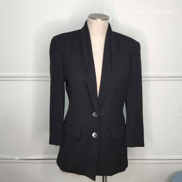 Women Size 4 Black Jacket