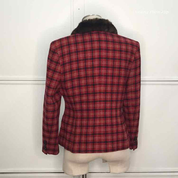 Women Size 12 Red Lauren by Ralph Lauren Jacket