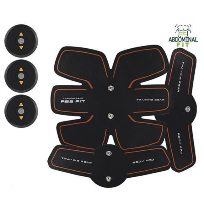Electroestimulador Abdominal Usb Abs Fit