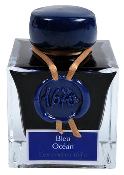 J. Herbin 1670 Fountain Pen Ink - Bleu Océan - 50ml Bottle