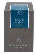 J. Herbin 1670 Fountain Pen Ink - Émeraude de Chivor - 50ml Bottle - Grand Vision Pens UK