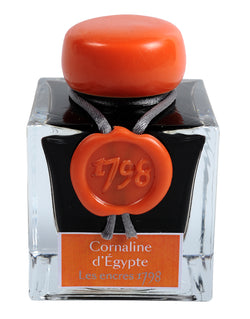 J. Herbin '1798' Anniversary Fountain Pen Ink - Cornaline d'Egypt - 50ml Bottle