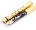 Sheaffer Targa 1005s Slimline Fountain Pen: 14k Gold Extra Fine Nib