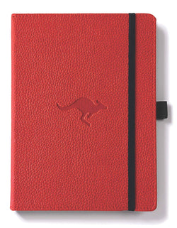 Dingbats* Wildlife Lined A5 Notebook: Red Kangaroo