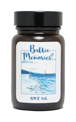 KWZ Inks Standard Fountain Pen Ink - Baltic Memories - 60ml Bottle