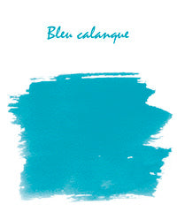 J. Herbin Fountain Pen Ink - Bleu Calanque - 10ml Bottle