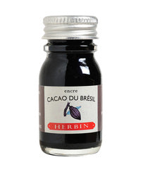 J. Herbin Fountain Pen Ink - Cacao du Brésil - 10ml Bottle