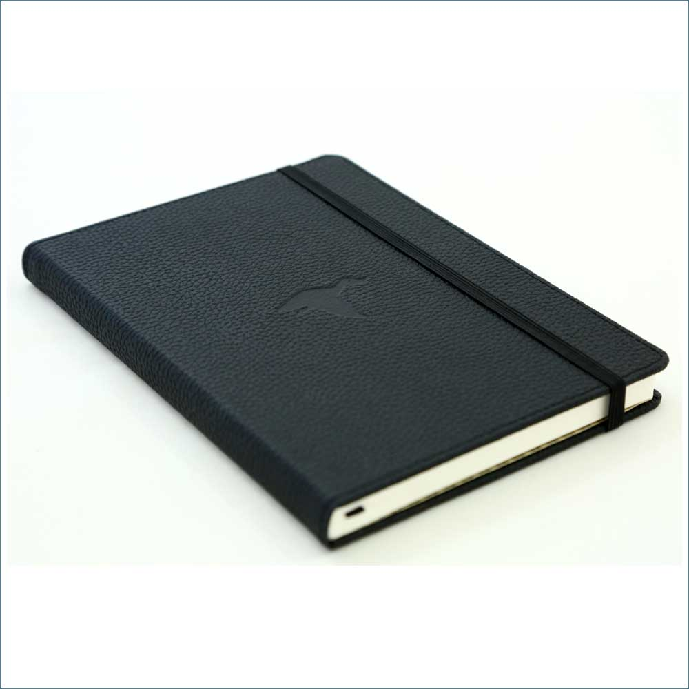 Dingbats* Wildlife Lined A5 Notebook: Black Duck - Grand Vision Pens UK