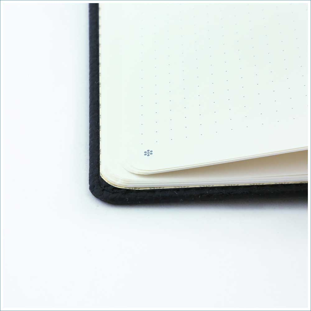 Dingbats* Wildlife Dotted A5 Notebook: Black Duck - Grand Vision Pens UK
