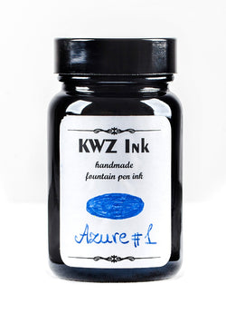 KWZ Inks Standard Fountain Pen Ink - Azure #1 - 60ml Bottle