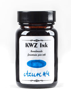 KWZ Inks Standard Fountain Pen Ink - Azure #4 - 60ml Bottle