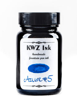 KWZ Inks Standard Fountain Pen Ink - Azure #5 - 60ml Bottle