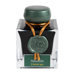Jacques Herbin 350th Anniversary Ink Limited Edition Vert Atlantide