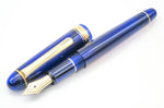 Platinum #3776 Century Fountain Pen Chartres Blue 14k Gold Fine Nib