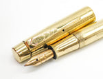 Vintage ONOTO Gold Fountain Pen & Pencil Set