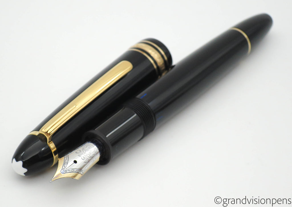 Montblanc Meisterstück 146 Piston Filled Fountain Pen 14k Extra Fine Nib (Nr MINT) - Grand Vision Pens UK