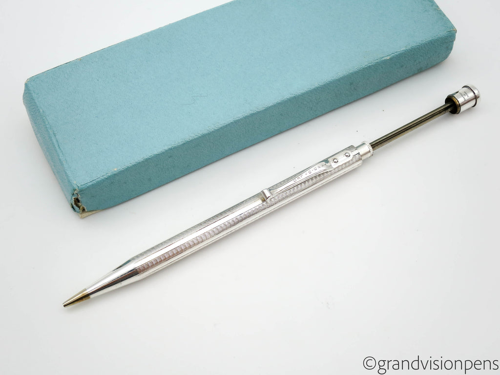 Boxed Vintage Yard-O-Led Sterling Silver Propelling Pencil (Near Mint Condition) - Grand Vision Pens UK