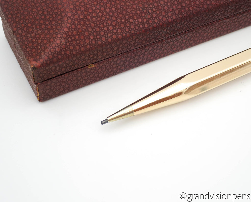 Boxed Vintage Yard-O-Led Rolled Gold Propelling Pencil (Excellent) - Grand Vision Pens UK