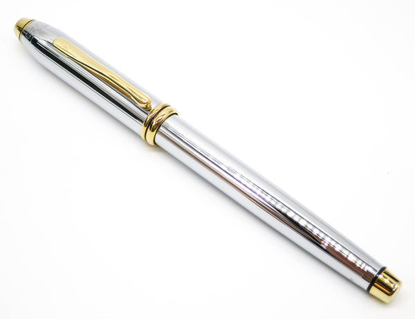 Cross Townsend Medalist Fountain Pen 23k Gold Medium Nib