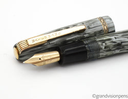 Vintage Waterman's 512 V Fountain Pen 14k Gold Nib (Serviced, Very Good)