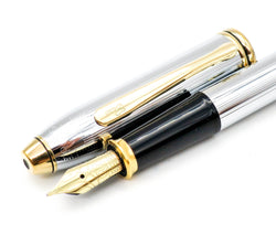 Cross Century II Medalist Fountain Pen - 23ct Gold Plated Medium Nib