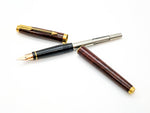 Parker 75 Tortoiseshell Lacquer Fountain Pen: 14k Gold Medium Nib
