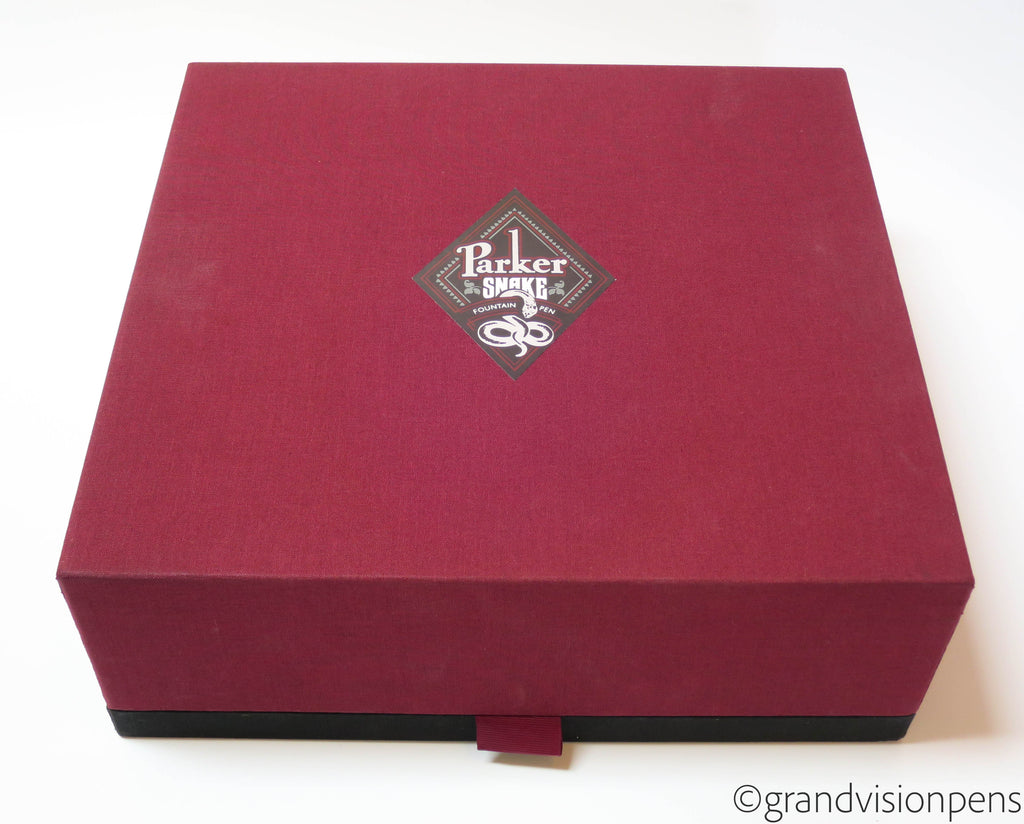 Boxed Parker Snake Limited Edition Fountain Pen 18k M Nib (Mint) - Grand Vision Pens UK