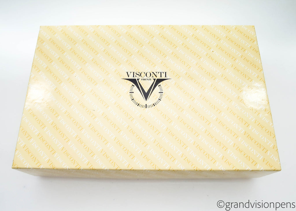 Boxed Limited Edition Visconti Camelot Fountain Pen 18k Gold (M) Nib - Excellent - Grand Vision Pens UK