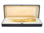 Parker 75 Perle Gold Plated Fountain Pen & Ballpoint Pen Set
