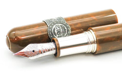 Limited Edition Montegrappa Cigar Fountain Pen 18k Medium Nib