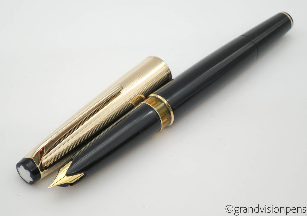 Vintage Montblanc No.72 Fountain Pen 14k Gold Fine Nib (Restored, Nr Mint) - Grand Vision Pens UK