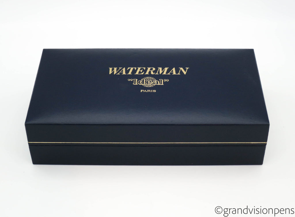 Boxed Waterman Le Man 100 Fountain Pen 18k Medium Nib (Serviced & Excellent) - Grand Vision Pens UK