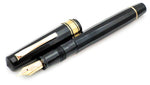 Vintage OMAS Extra Fountain Pen & Pencil Set 555F 14k Gold Fine Flex Nib - Grand Vision Pens UK