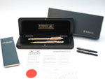 Rare Parker Duofold Presidential Fountain Pen & Ballpoint Pen Retail Set - Grand Vision Pens UK