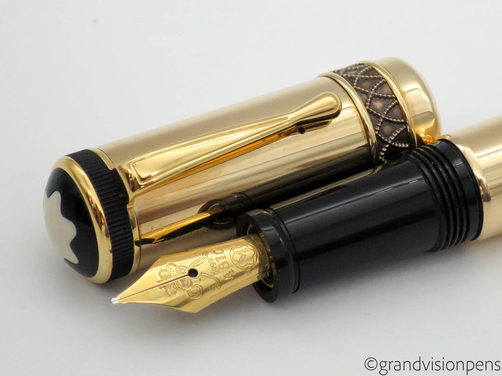 Montblanc Friedrich II 4810 Fountain Pen Patron of the Arts Edition - Grand Vision Pens UK
