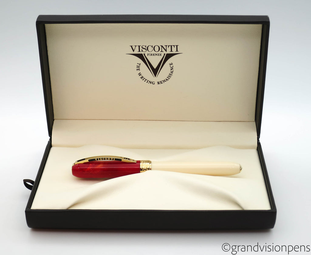 Boxed Limited Edition Visconti Turkish Republic Fountain Pen (Mint) - Grand Vision Pens UK