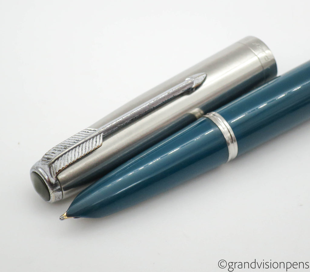 Vintage Fountain Pen, Bottled Ink & Pen Sleeve Gift Set - Grand Vision Pens UK