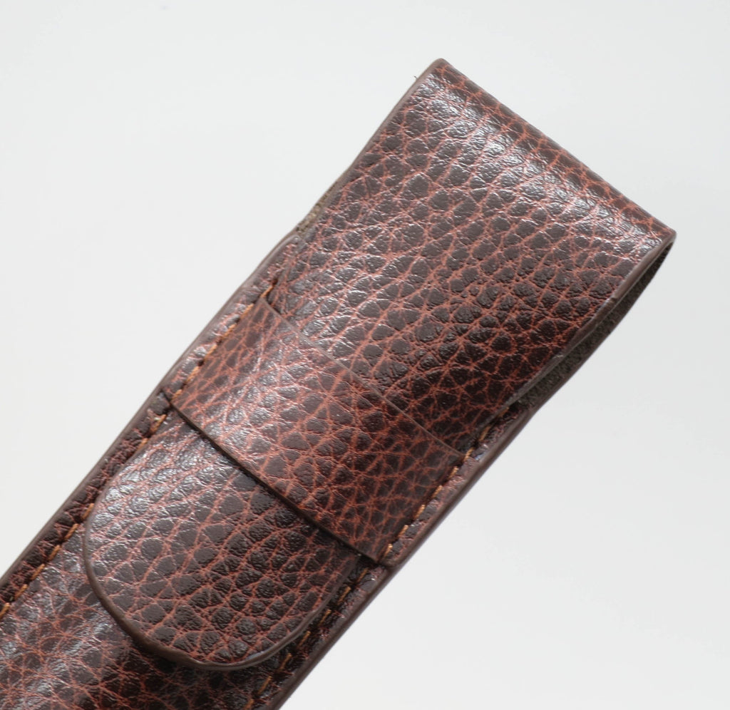 Premium Leather Pen Sleeve - Grand Vision Pens UK